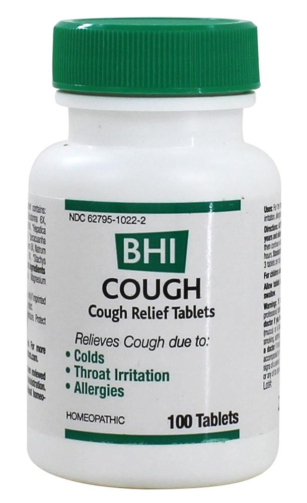 BHI/Heel - Cough - 100 Tablets