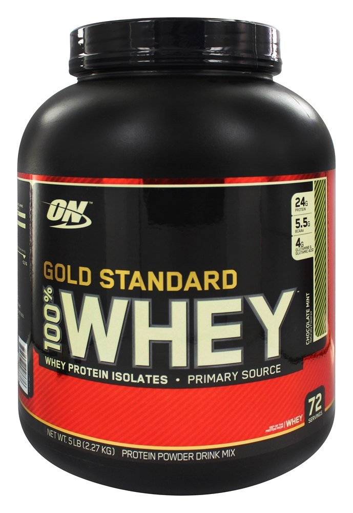 Optimum Nutrition - 100% Whey Gold Standard Protein Chocolate Mint - 5 lbs.