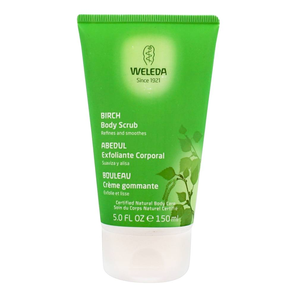Weleda - Birch Body Scrub - 5.1 oz.