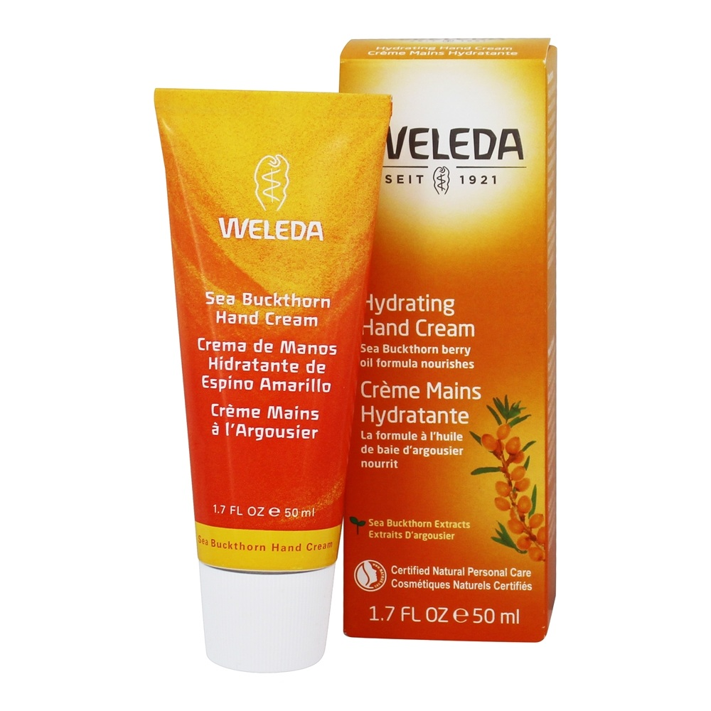 Weleda - Sea Buckthorn Hand Cream - 1.7 oz.