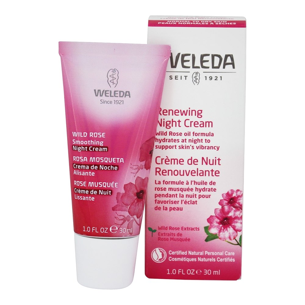 Weleda - Wild Rose Smoothing Night Cream - 1 oz.