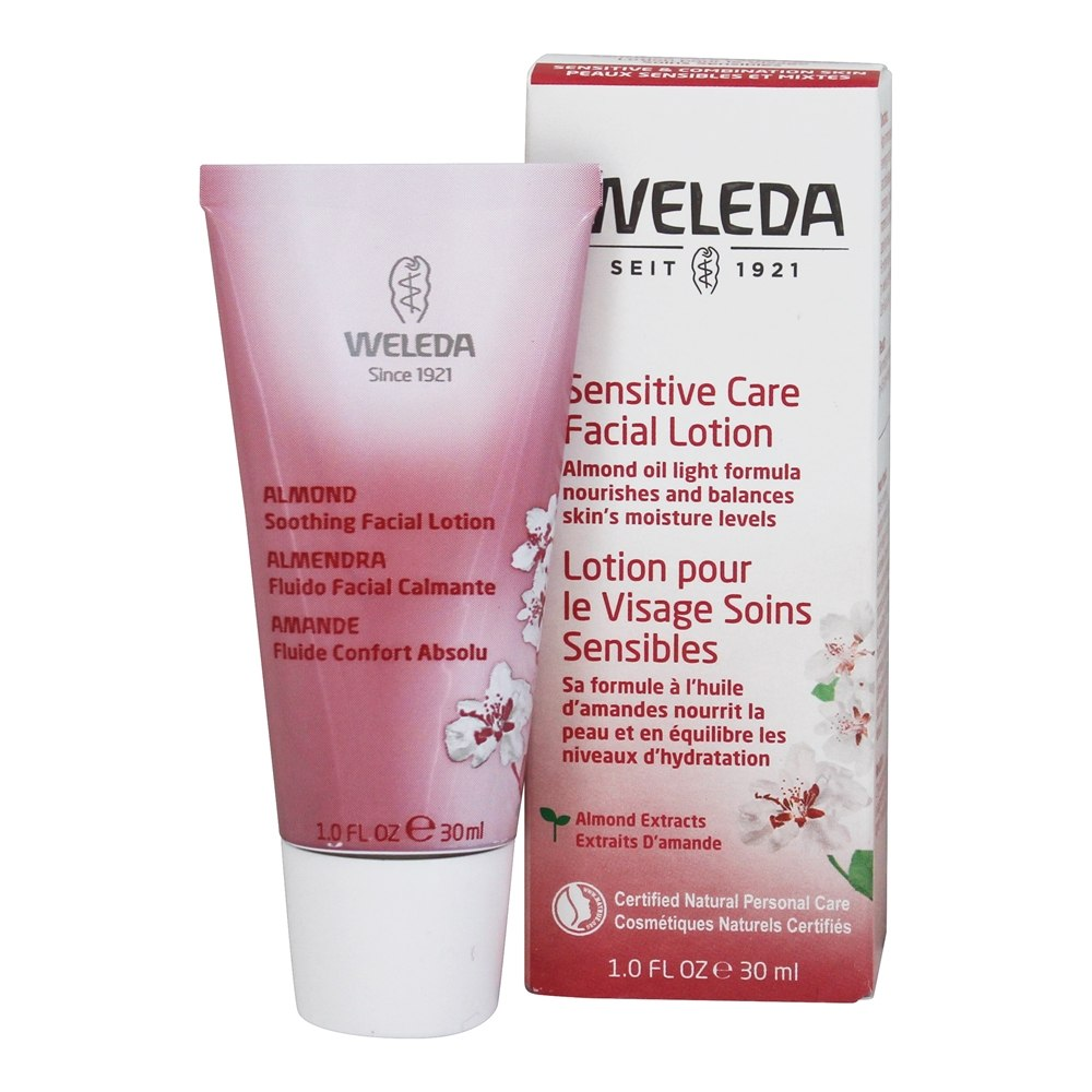 Weleda - Almond Soothing Facial Lotion - 1 oz.