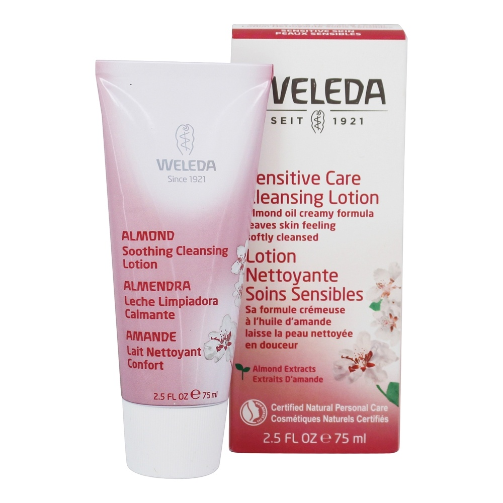Weleda - Almond Soothing Cleansing Lotion - 2.6 oz.