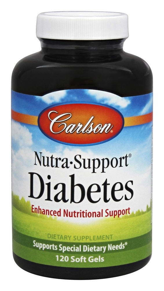 Carlson Labs - Nutra-Support Diabetes - 120 Softgels