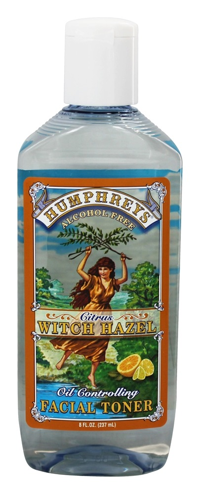 Humphreys - Witch Hazel Oil Controlling Toner Citrus - 8 oz.