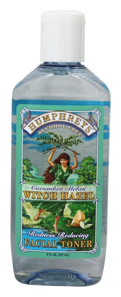 Humphreys - Witch Hazel Redness Reducing Toner Cucumber Melon - 8 oz.