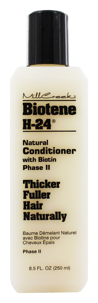 Mill Creek Botanicals - Biotene H-24 Natural Conditioner With Biotin Phase II - 8.5 oz.