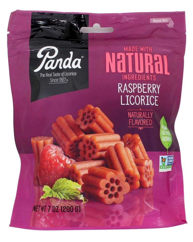 Panda - Licorice Soft Chews Raspberry - 7 oz.