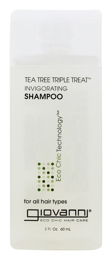Giovanni - Shampoo Invigorating Tea Tree Triple Treat Travel Size - 2 oz.