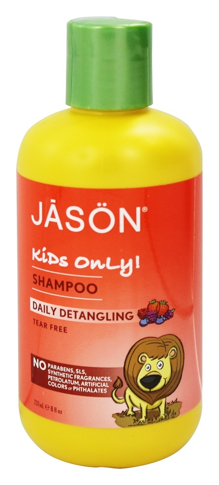 JASON Natural Products - Kids Only Shampoo Daily Detangling - 8 oz.