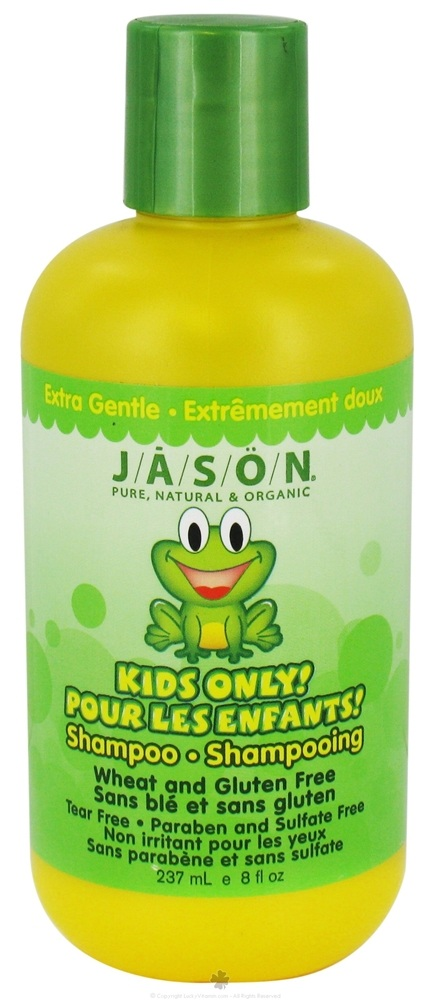 JASON Natural Products - Kids Only Shampoo Extra Gentle - 8 oz.