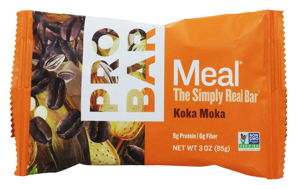 Pro Bar - Whole Food Meal Bar Original Collection Koka Moka - 3 oz.
