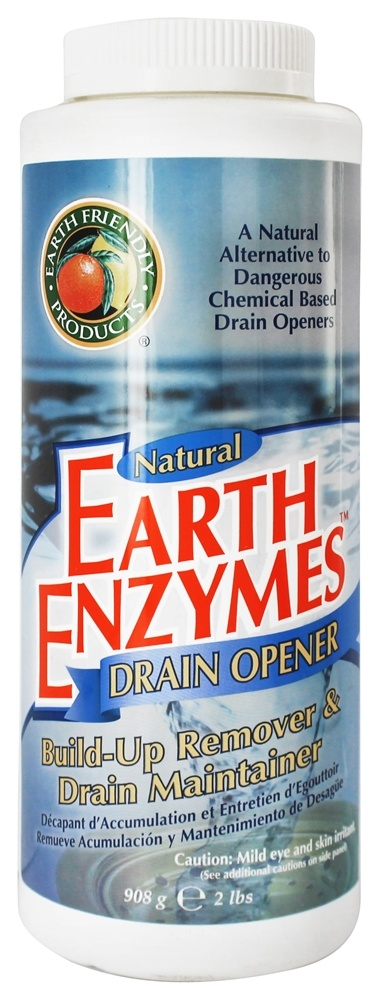 Earth Friendly - Natural Earth Enzymes Drain Opener - 2 lbs.