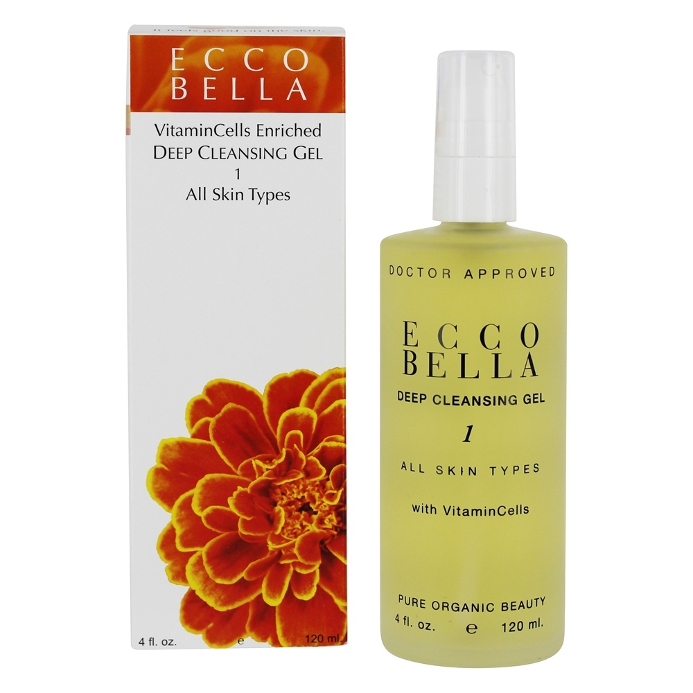 Ecco Bella - Deep Cleansing Gel For All Skin Types - 4 oz.