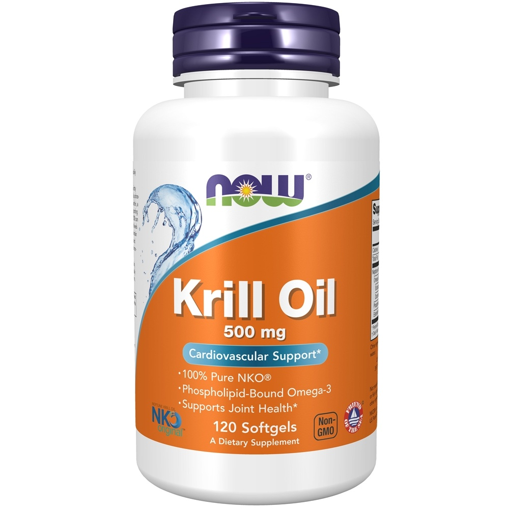 NOW Foods - Neptune Krill Oil 500 mg. - 120 Softgels