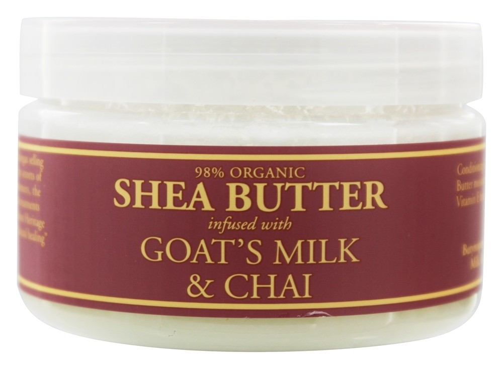 Nubian Heritage - Shea Butter Infused With Goat's Milk & Chai - 4 oz.