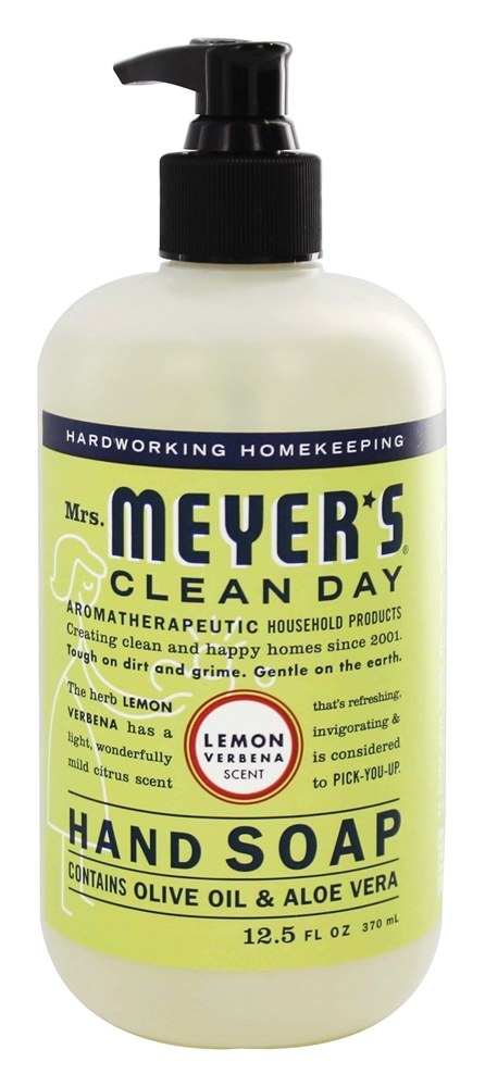 Mrs. Meyer's - Clean Day Liquid Hand Soap Lemon Verbena - 12.5 oz.