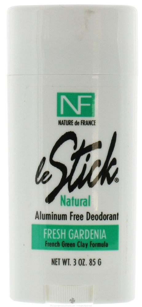 Nature de France - Le Stick Natural Aluminum Free Deodorant Stick Fresh Gardenia - 3 oz.