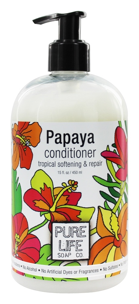 Pure Life Soap Co. - Conditioner Papaya - 15 oz.