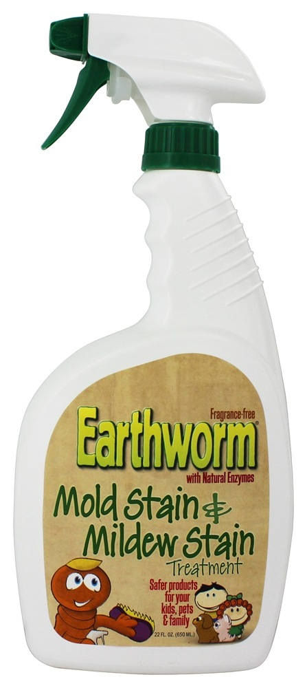 Earthworm - Mold and Mildew Treatment Family Safe and Fragrance Free - 22 oz.
