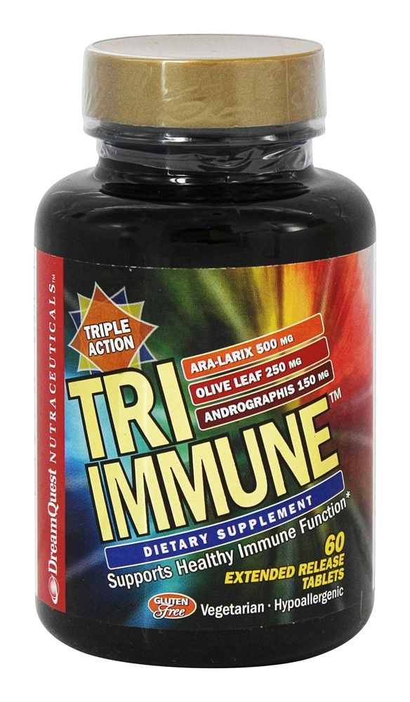 Dream Quest Nutraceuticals - Tri-Immune - 60 Tablets