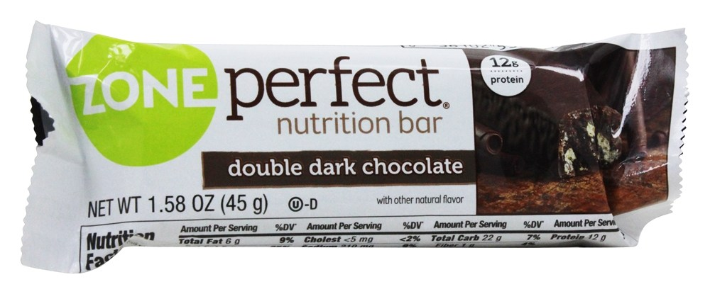 Zone Perfect - All-Natural Nutrition Bar Double Dark Chocolate - 1.58 oz.