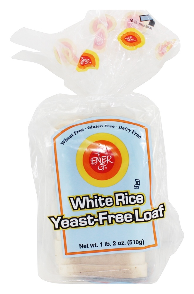 Ener-G - Gluten Free Bread White Rice Yeast-Free Loaf - 19 oz.