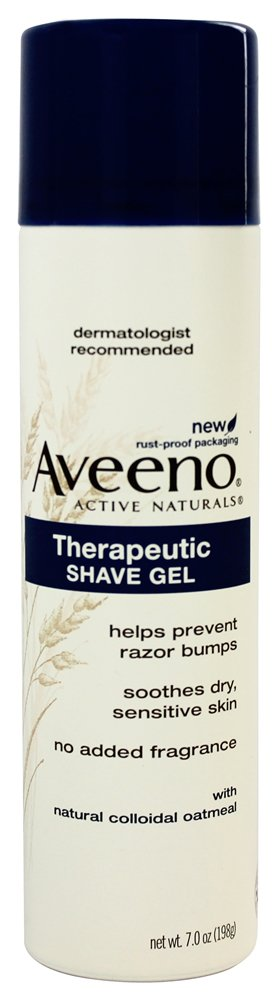 Aveeno - Active Naturals Therapeutic Shave Gel with Natural Colloidal Oatmeal - 7 oz.