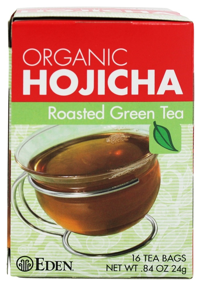 Eden Foods - Organic Hojicha Roasted Green Tea - 16 Tea Bags