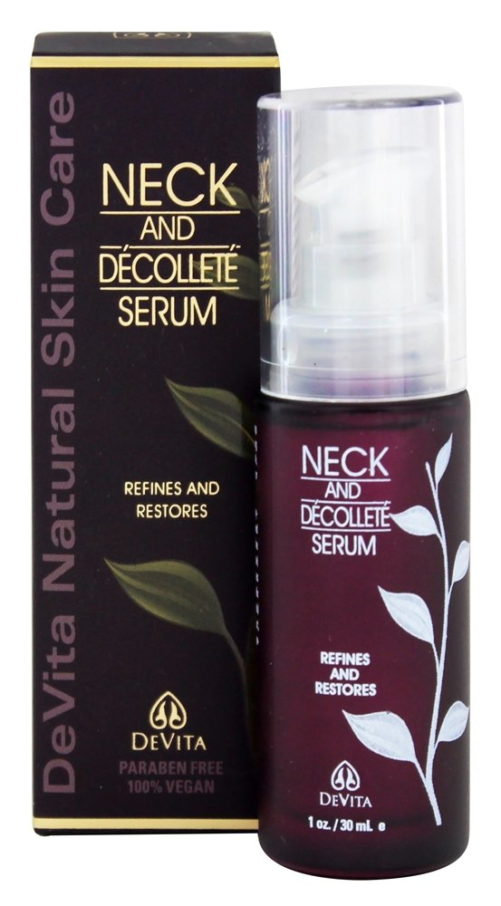 DeVita - Neck & Decollete Serum - 1 oz.