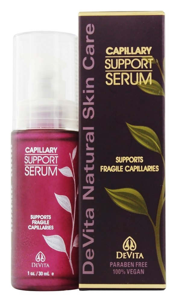 DeVita - Natural Skin Care Capillary Support Serum - 1 oz. Formerly Rosacea Complex