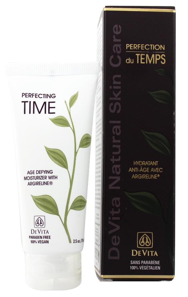 DeVita - Natural Skin Care Perfecting Time Age Defying Moisturizer With Argireline - 2.5 oz. Formerly Daytime Natural Moisturizer With 1% ...