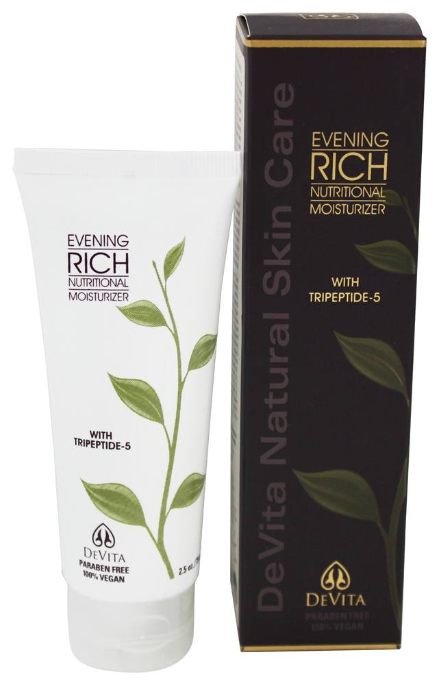 DeVita - Evening Rich Nutritional Moisturizer - 2.5 oz. (formerly with 1% Hyaluronic Acid)