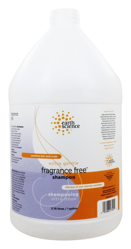 Earth Science - Pure Essentials Shampoo Gallon Fragrance-Free - 128 oz.