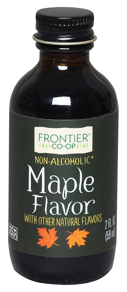 Frontier Natural Products - All-Natural Alcohol-Free Flavor Maple - 2 oz.