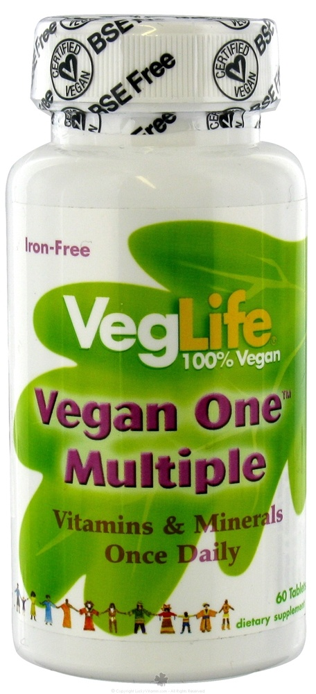 VegLife - Vegan One Multiple - 60 Tablets