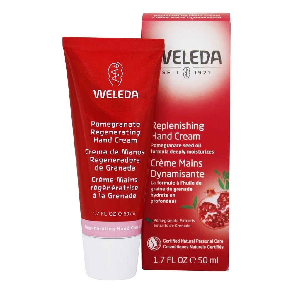 Weleda - Pomegranate Renegerating Hand Cream - 1.7 oz.