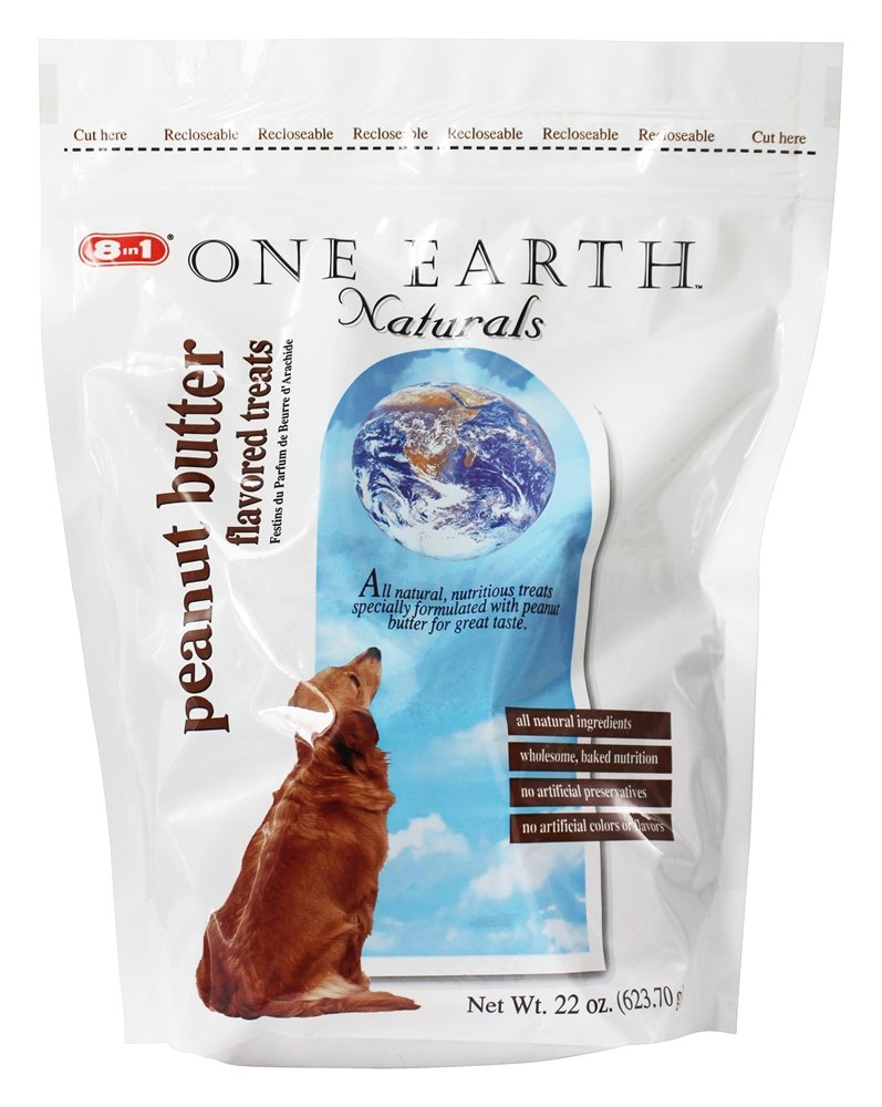 One Earth Naturals - Dog Treats Peanut Butter - 22 oz.