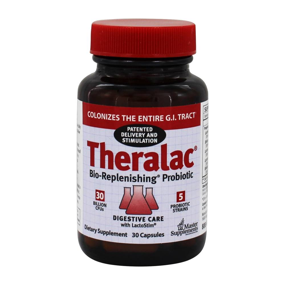 Master Supplements - Theralac Probiotic Master Supplement - 30 Capsules