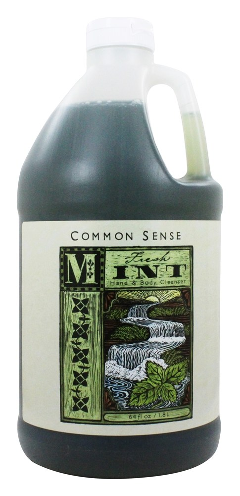 Common Sense Farm - Hand & Body Cleanser Fresh Mint - 64 oz.
