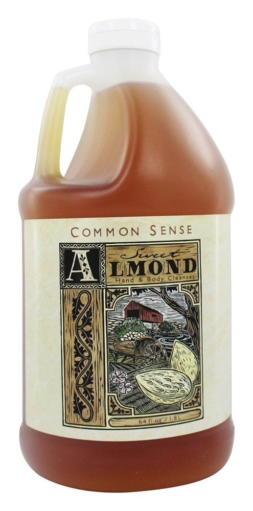 Common Sense Farm - Hand & Body Cleanser Almond - 64 oz.