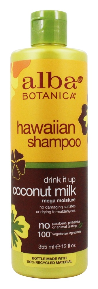 Alba Botanica - Alba Hawaiian Hair Wash Extra-Rich Coconut Milk - 12 oz.