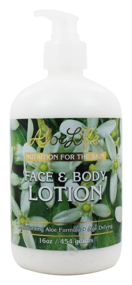 Aloe Life - Face & Body Lotion - 16 oz.