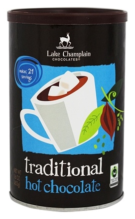 DROPPED: Lake Champlain Chocolates - All Natural Hot Chocolate Traditional - 16 oz. CLEARANCE PRICED
