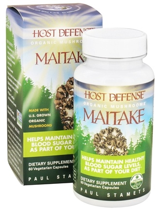DROPPED: Fungi Perfecti - Host Defense Maitake Cellular Support - 60 Vegetarian Capsules