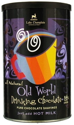 DROPPED: Lake Champlain Chocolates - All Natural Hot Chocolate Old World - 9.5 oz. CLEARANCE PRICED