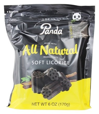 Panda - Licorice Soft Chews Black - 6 oz.