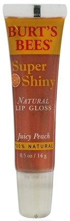 DROPPED: Burt's Bees - Natural Lip Gloss Super Shiny Juicy Peach - 0.5 oz.