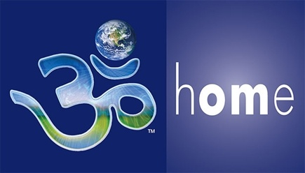 DROPPED: Sound Universe - Bumpersticker hOMe + Ohm-Earth Symbol - CLEARANCE PRICED