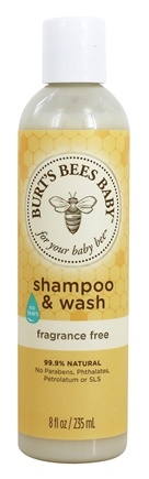 DROPPED: Burt's Bees - Baby Bee Shampoo & Wash Tear Free Fragrance Free - 8 oz.